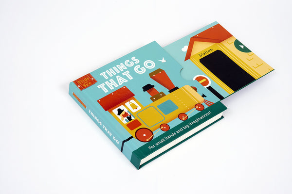 Book-Slide and see-Things that go