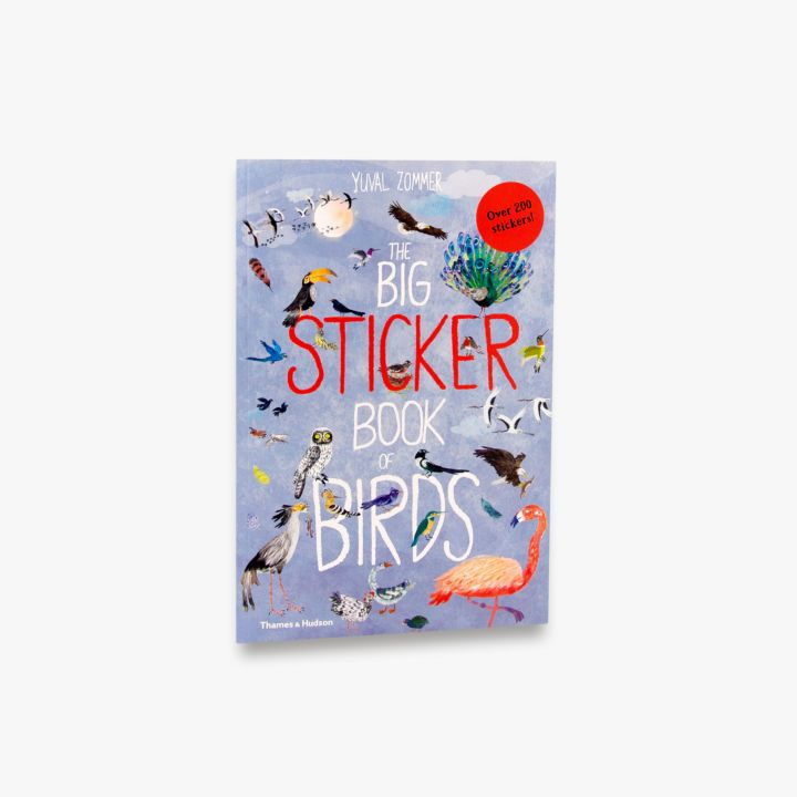 BIG STICKER BOOK OF BIRDS
