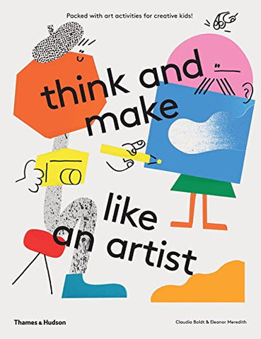 Book-THINK AND MAKE LIKE AN ARTIST