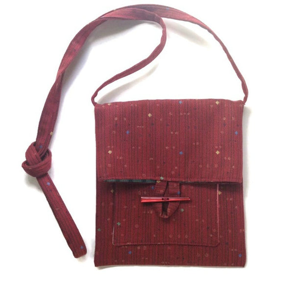 Tag Along Bag Red