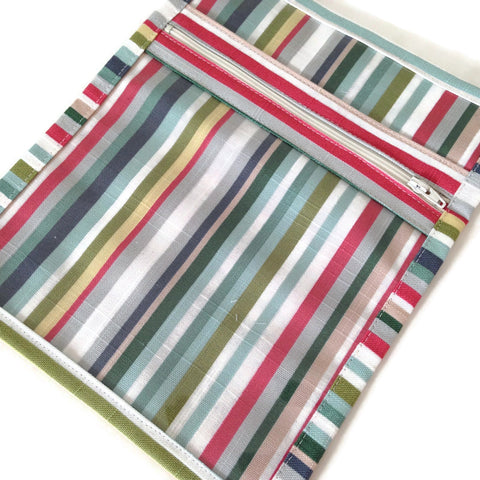 Accessory Bag Stripe Fabric
