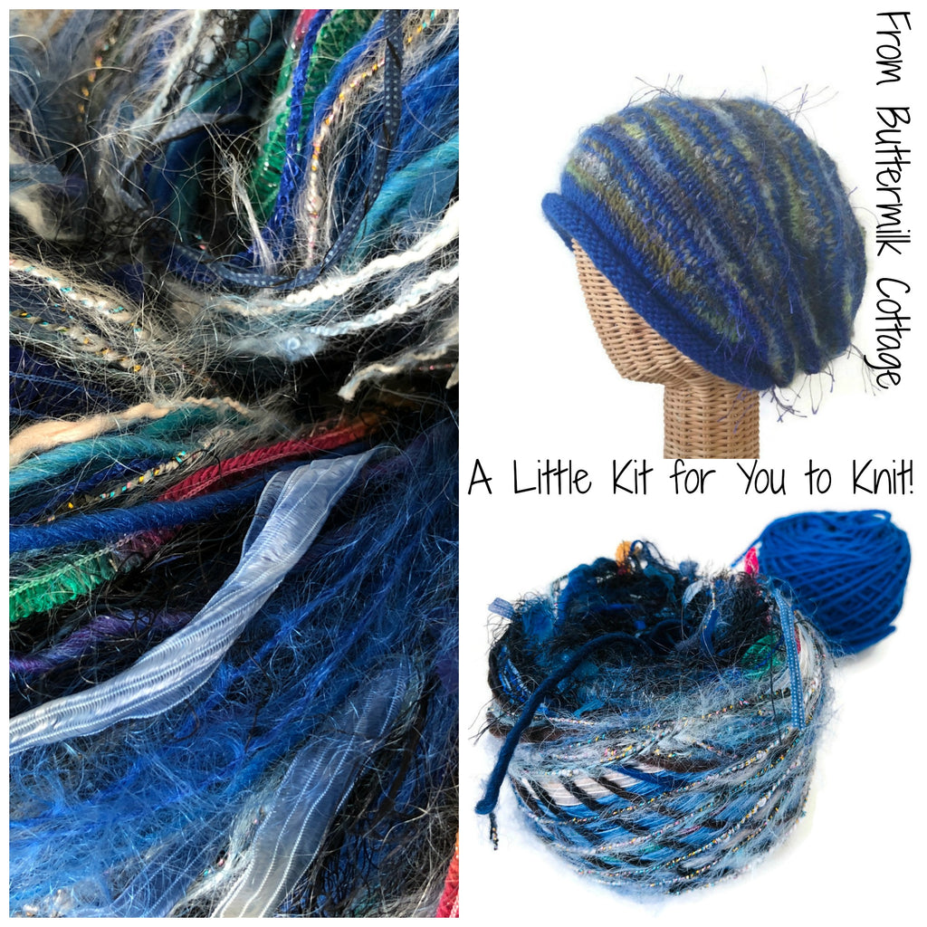Blue FUSION Slouchy Hat Kit