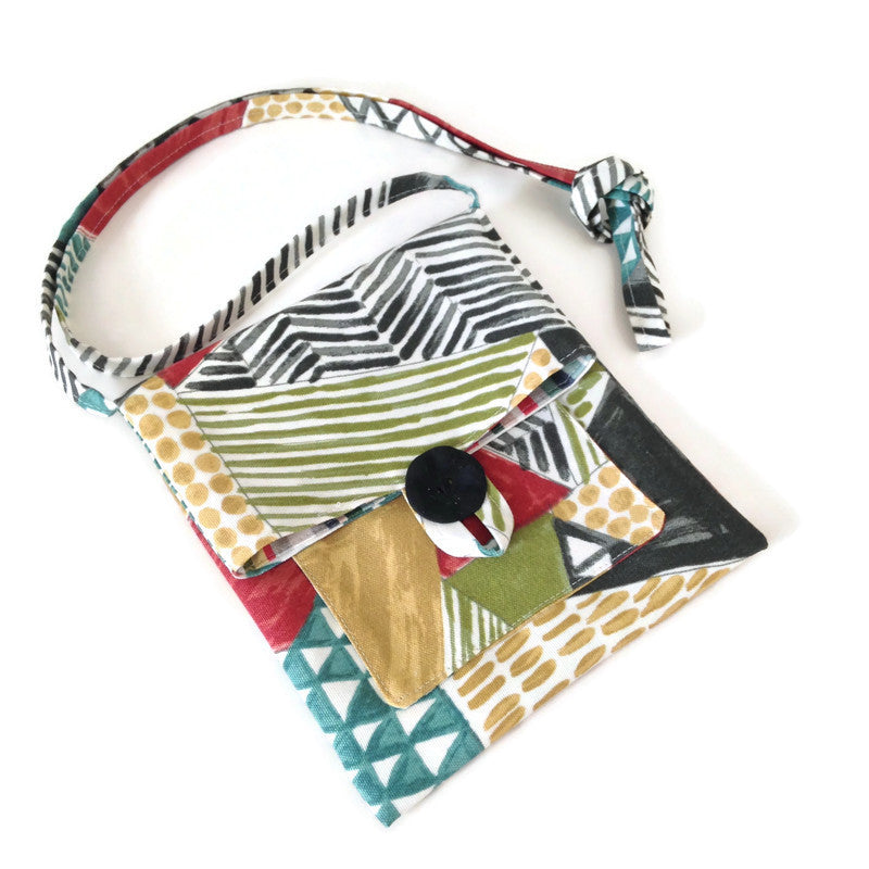 Tag Along Bag Graphic Print Outdoor Fabric