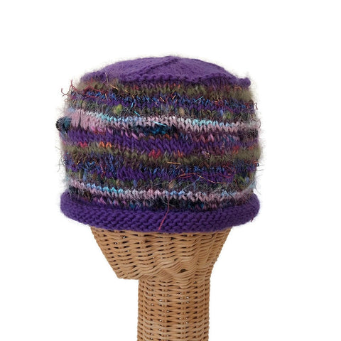 Beanie Cloche Purple FUSION