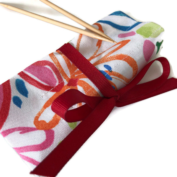 Sock Knitter's Needle Set Summer Floral