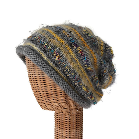 Slouchy Hat Gray FUSION