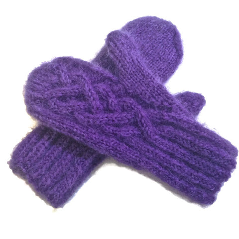 Mittens Purple - Buttermilk Cottage - 1