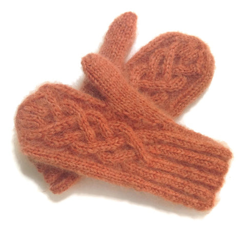 Mittens Rusty Orange - Buttermilk Cottage - 1