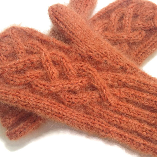 Mittens Rusty Orange - Buttermilk Cottage - 5