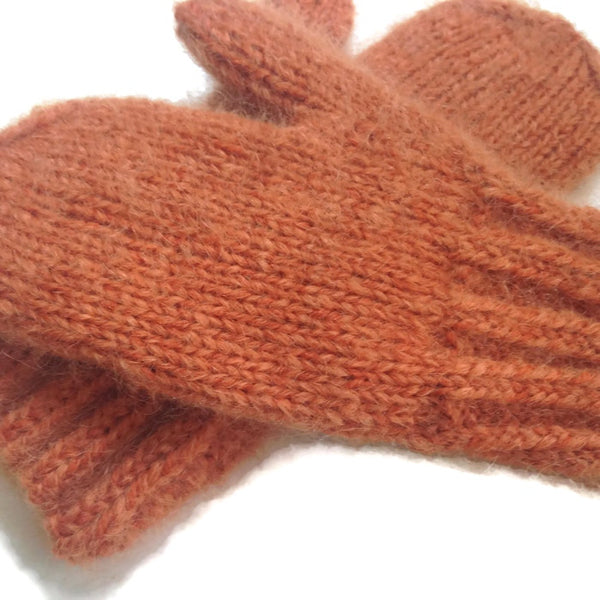 Mittens Rusty Orange - Buttermilk Cottage - 4