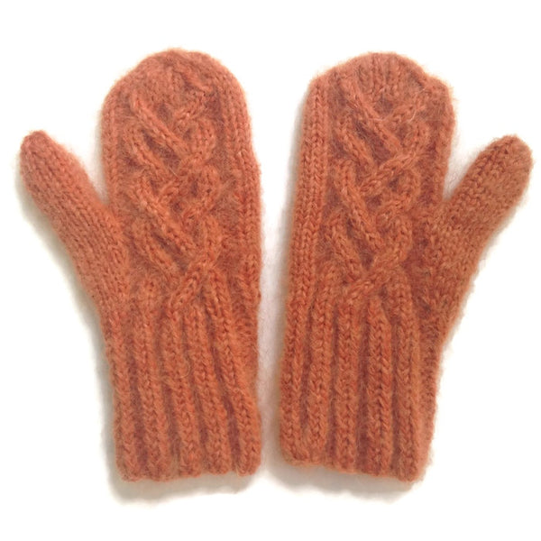 Mittens Rusty Orange - Buttermilk Cottage - 3