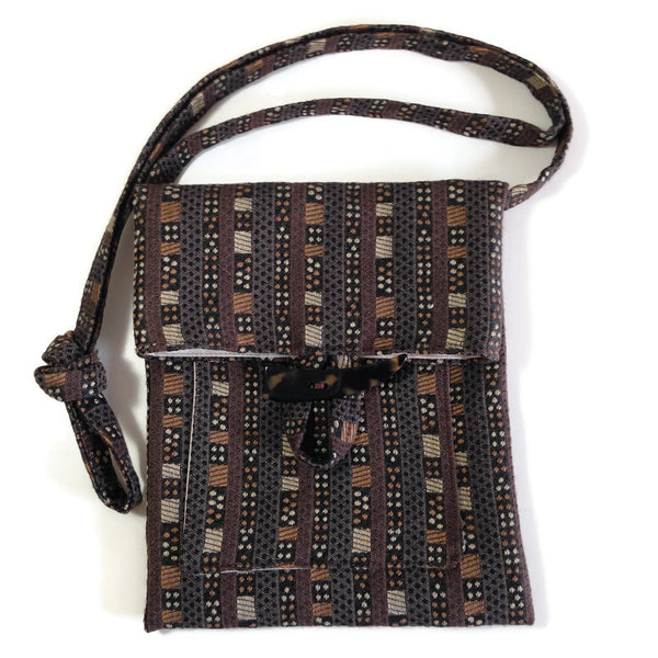 Tag Along Bag Brown Graphic