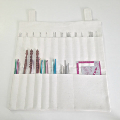 Hanging Organizer  for Crochet Hooks