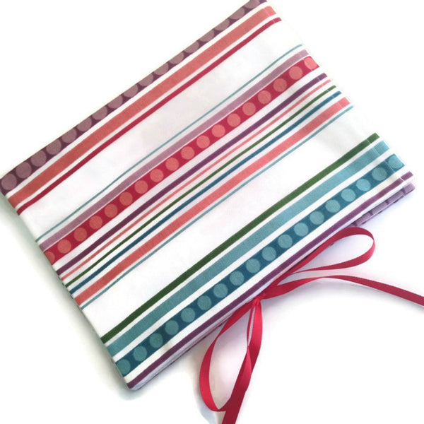 Circular Needle Case Stripe and Circle Motif