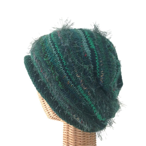 Slouchy Hat Green FUSION
