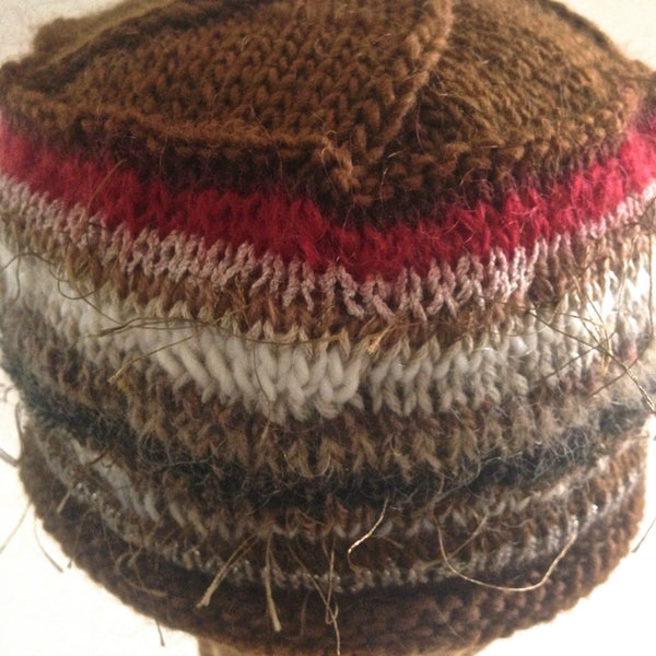Beanie Cloche Brown FUSION