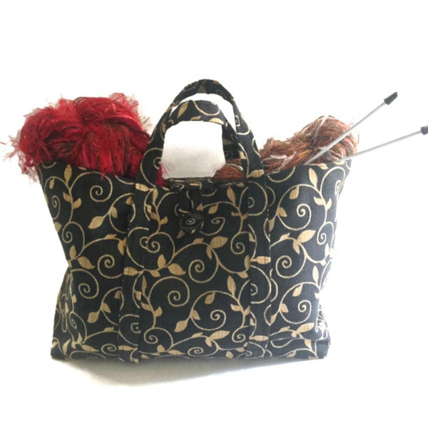The Large Knitting Bag