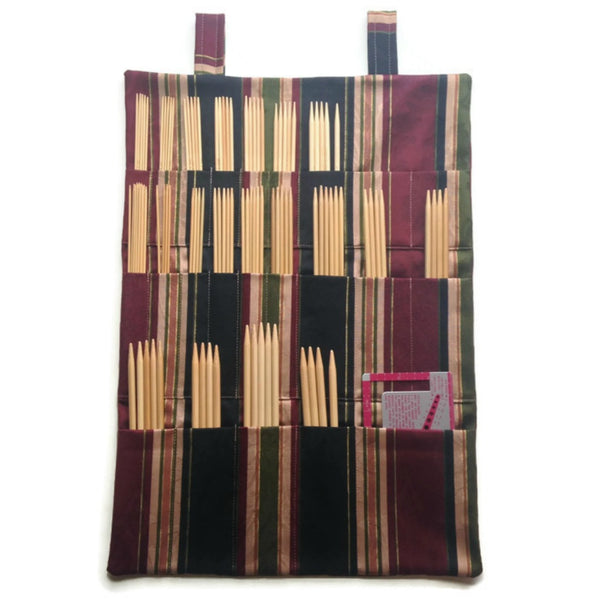 Hanging DPN Organizer Striped Decor Fabric