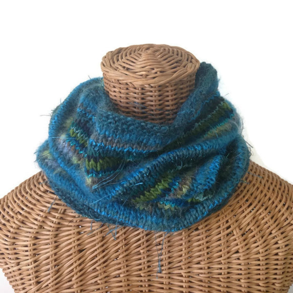 FUSION Cowl Teal