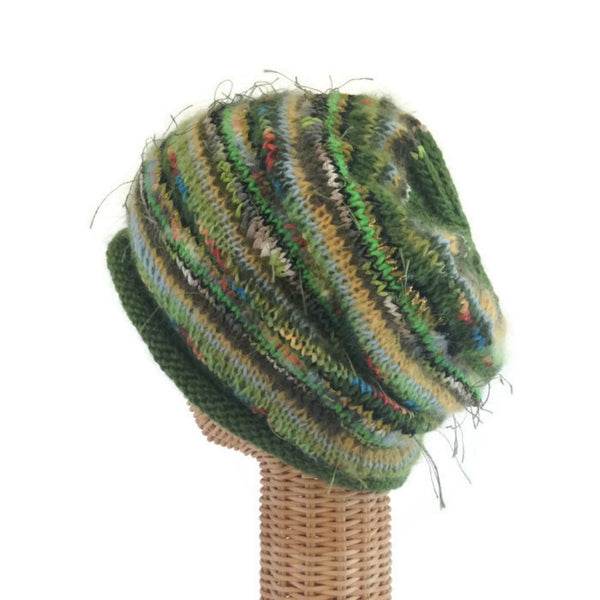 Slouchy Hat Bright Green FUSION