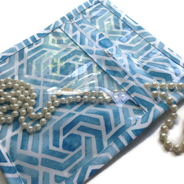 Accessory Bag Blue Celtic Twist - Buttermilk Cottage