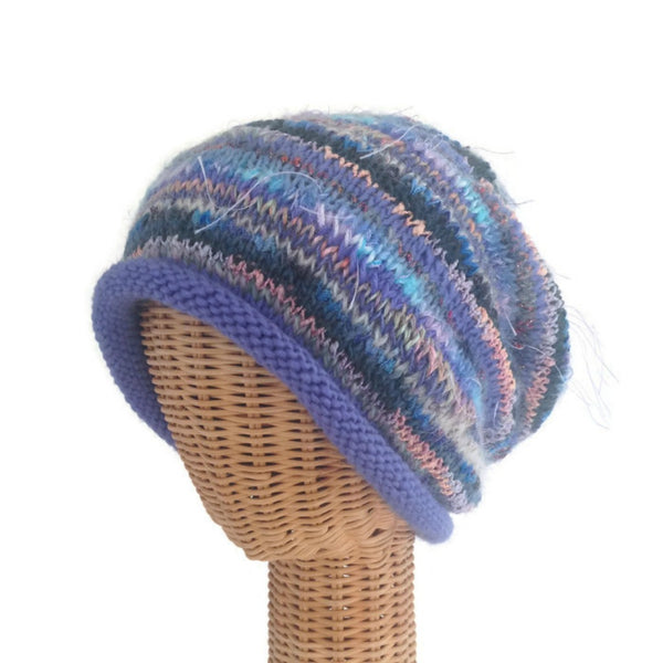 Slouchy Hat Lavender  FUSION