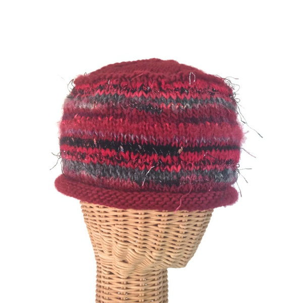 Beanie Cloche Red FUSION