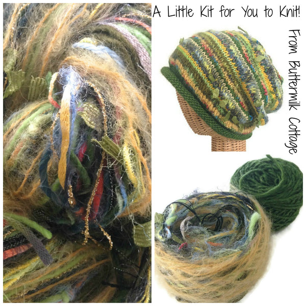 Green FUSION Slouchy Hat Kit