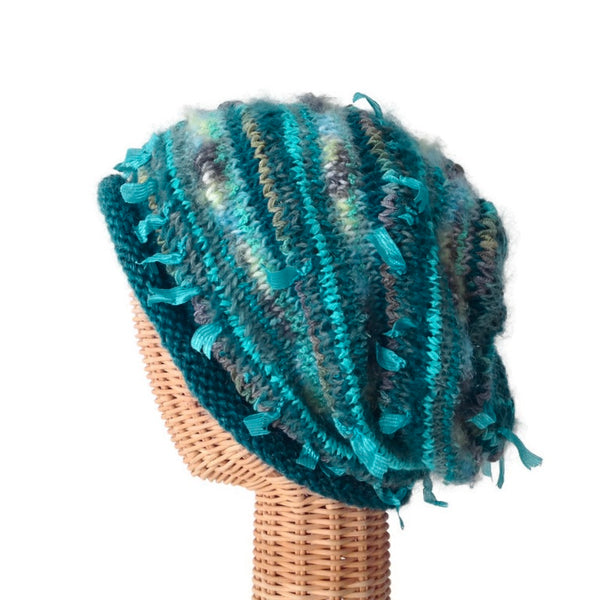 Slouchy Hat Teal FUSION