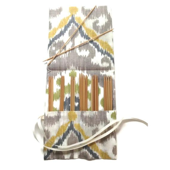 Double Point Needle Roll Up Ikat