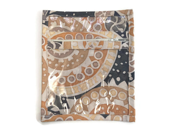Accessory Bag Brown Geometric - Buttermilk Cottage - 2