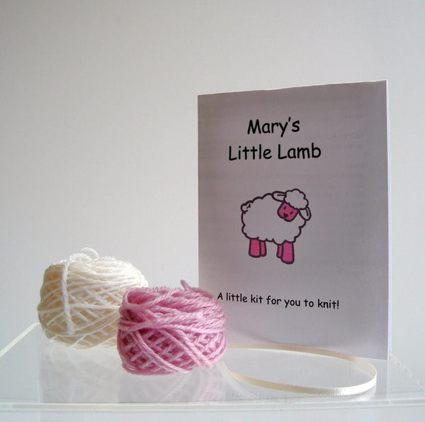 "PDF Sheep Pattern ""Mary's Little Lamb"" - Buttermilk Cottage - 3"