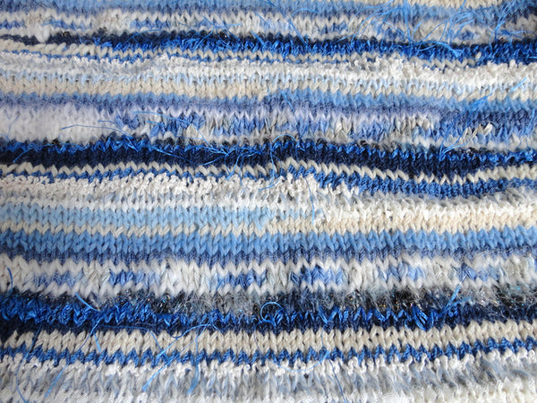Blue and White FUSION Yarn - Buttermilk Cottage - 5