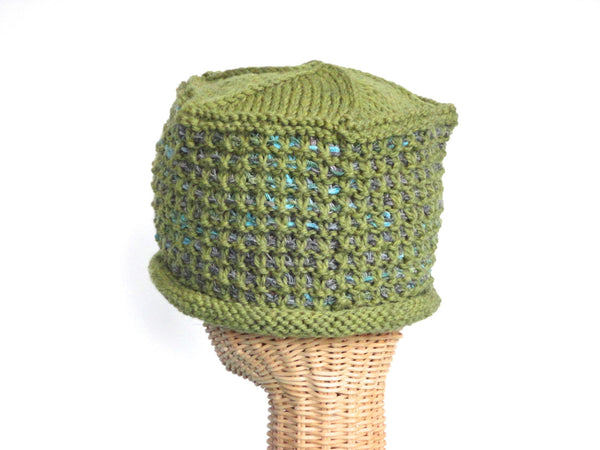 Bucket Hat Rolled Brim Green - Buttermilk Cottage - 4