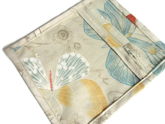 Accessory Bag Pastel Butterflies - Buttermilk Cottage - 1