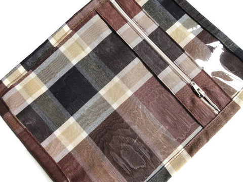 Accessory Bag Black Plaid - Buttermilk Cottage - 1