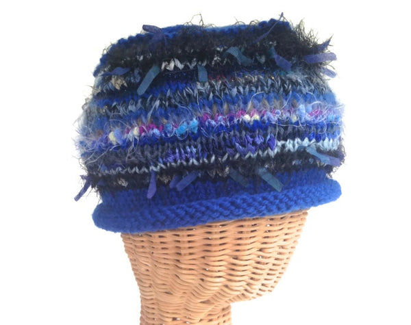 Beanie Cloche Blue FUSION - Buttermilk Cottage - 4