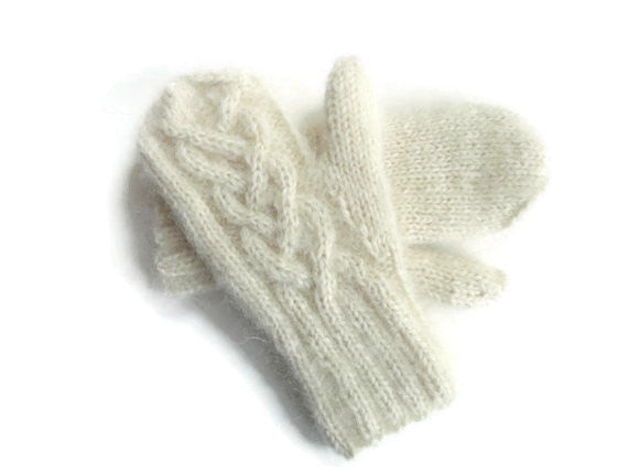 Mittens Winter White - Buttermilk Cottage - 1