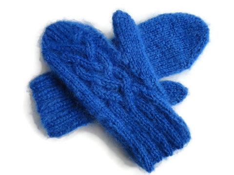 Mittens Blue - Buttermilk Cottage