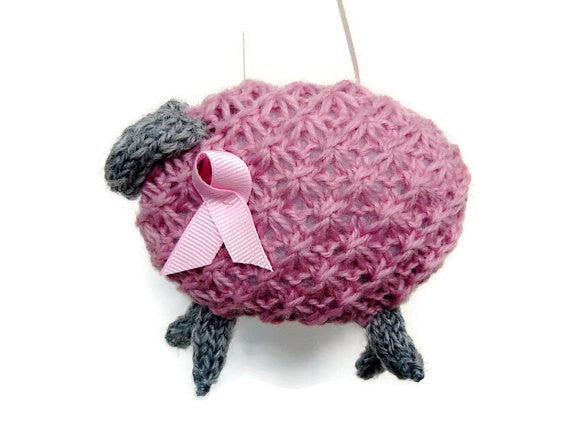 "PDF Sheep Pattern ""Pinky, Pretty Pink Ewe"" - Buttermilk Cottage - 2"