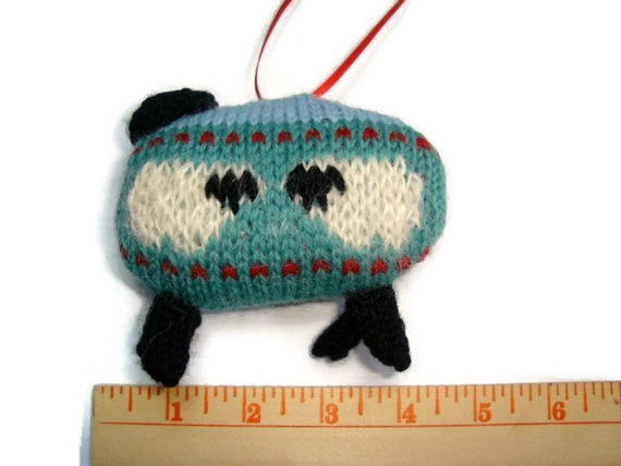 "Sheep Ornament Knitting Kit ""The Sheep in the Meadow"" - Buttermilk Cottage - 3"