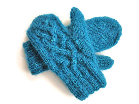 Mittens Teal - Buttermilk Cottage - 1