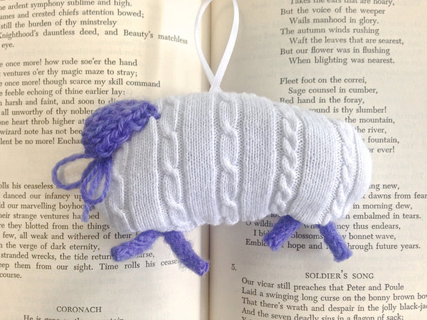 Lavender Lambs Sachet Set of 2 - Buttermilk Cottage