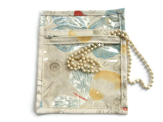 Accessory Bag Pastel Butterflies - Buttermilk Cottage - 3