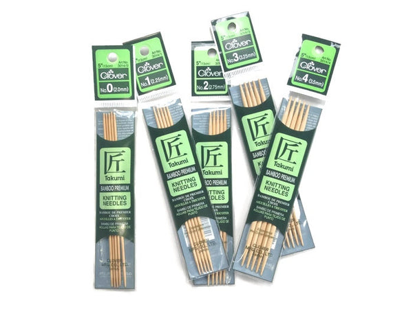 Tools DPN 5 Inch Sock Needles - Buttermilk Cottage - 2