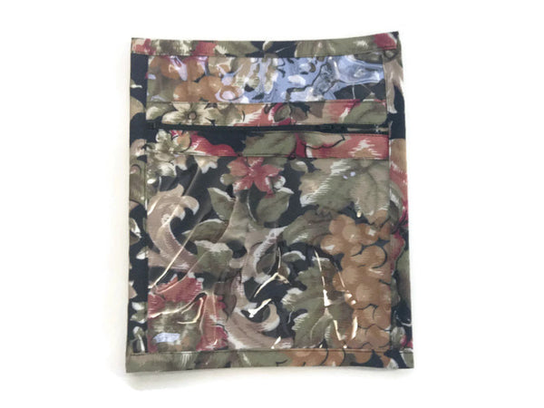 Accessory Bag Black Floral - Buttermilk Cottage - 2