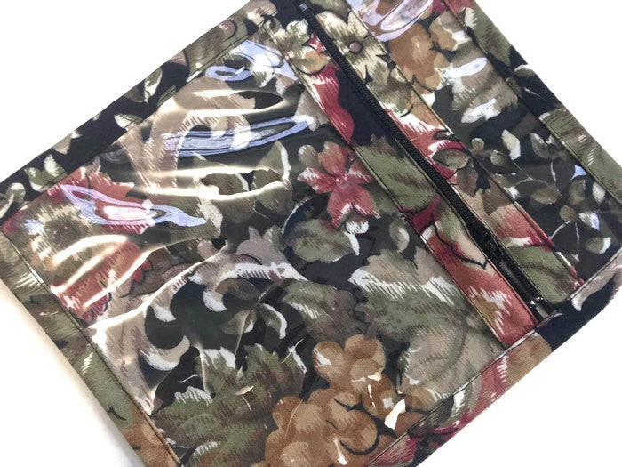 Accessory Bag Black Floral - Buttermilk Cottage - 1