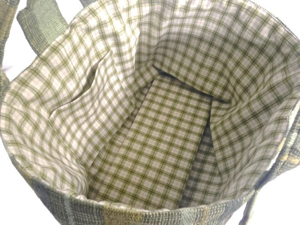 The Large Knitting Bag - Buttermilk Cottage - 5