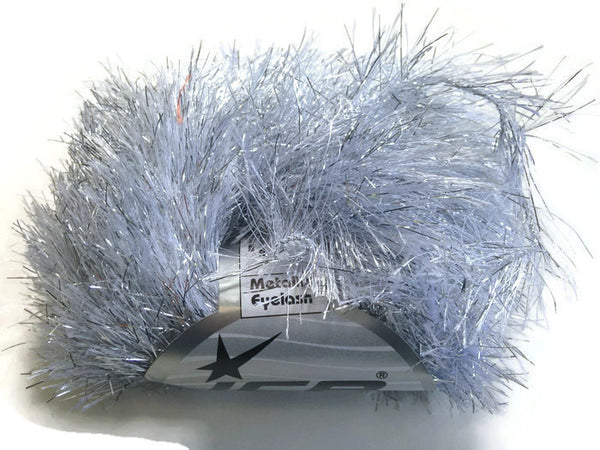 Yarn ICE Silver Faux Fur  Metallic Eyelash - Buttermilk Cottage - 3