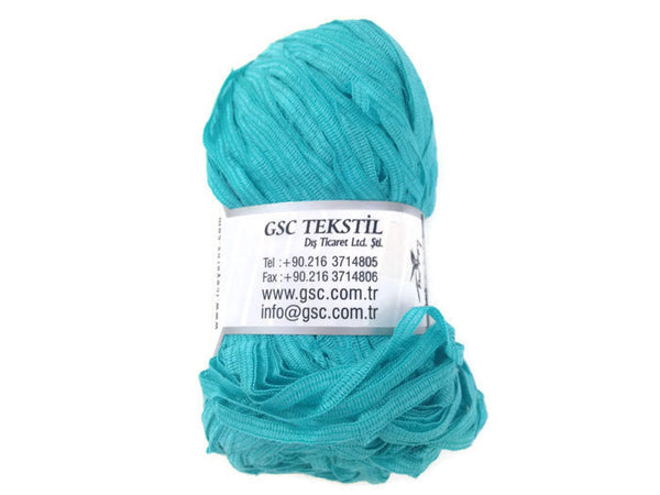 Yarn ICE Ribbon Twin Turquoise - Buttermilk Cottage - 3